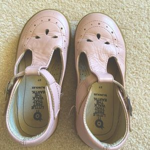 Girls leather Mary Jane's OLD SOLES size 27